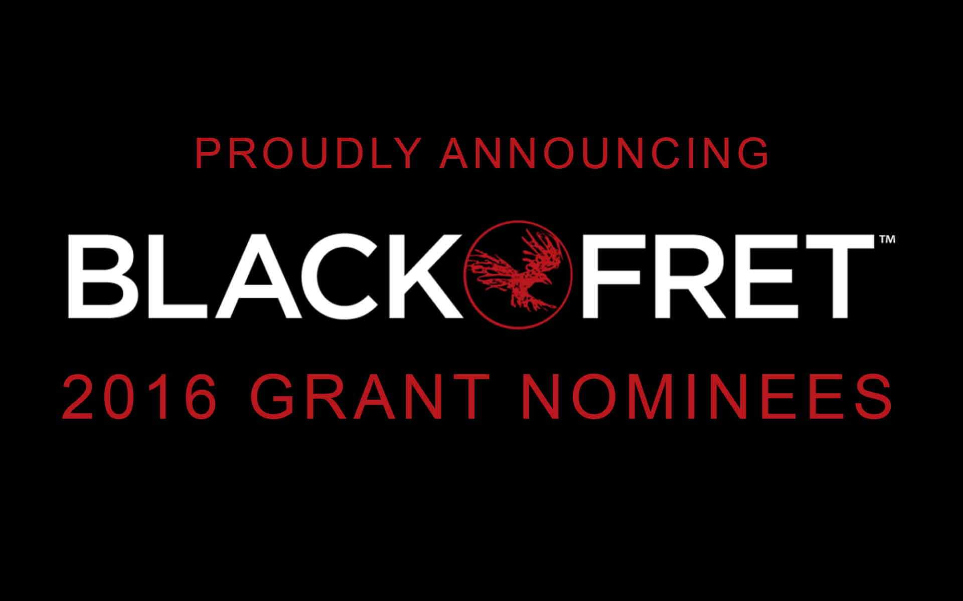 2016 Grant Nominees