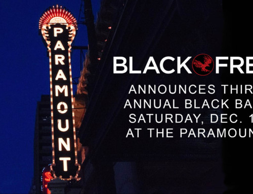 BLACK FRET ANNOUNCES THIRD ANNUAL BLACK BALL SATURDAY, DEC. 10 AT THE PARAMOUNT