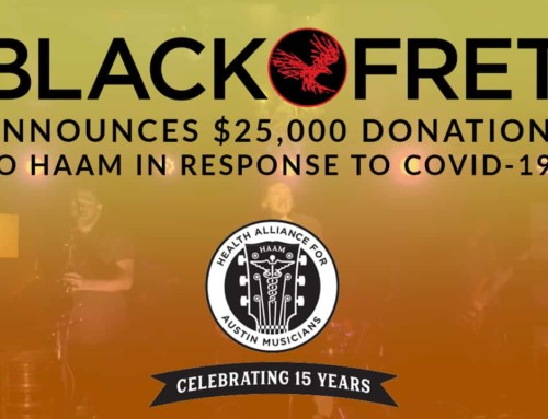 BLACK FRET ANNOUNCES $25,000 DONATION TO HAAM IN RESPONSE TO COVID-19